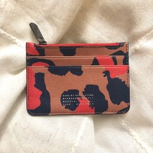 Marc by Marc Jacobs Leopard Print Lina Card Case